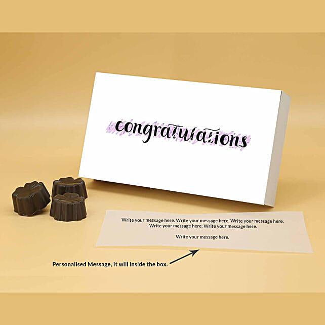 Online Best Wishes Fruit N Nut Personalised Chocolates:Valentine Personalised Chocolates