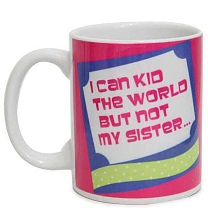 Bestest Sister Mug-sister feel special by gifting her this mug