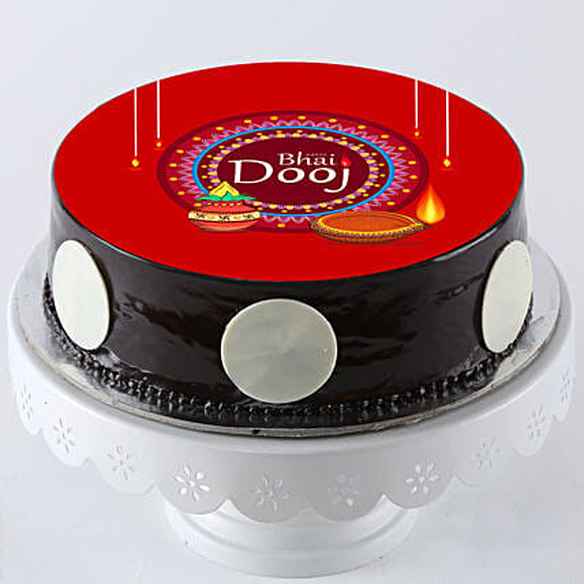 Bhaiya Dooj Special Cake Online:Bhai Dooj Cakes