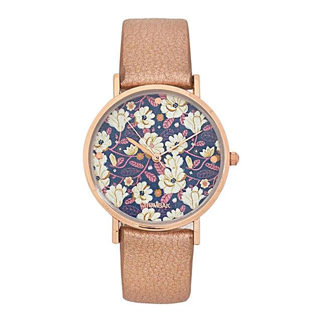 Big Flower Wrist Watch