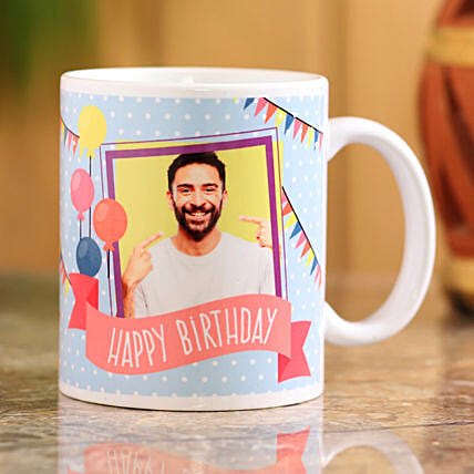 birthday personalised mug for him:Personalised Mug