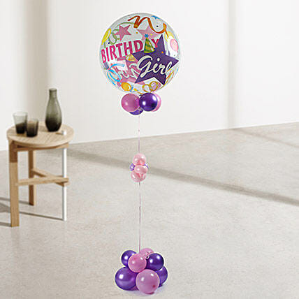 Birthday Girl Balloons