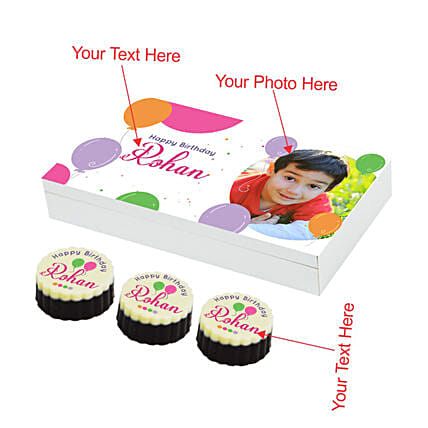 personalised chocolate for kids