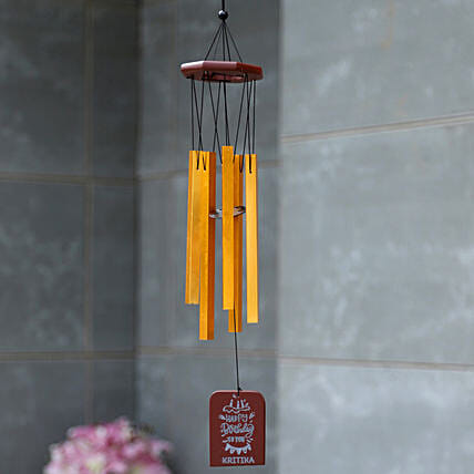 Birthday Special Personalised Wind Chime :Home Decor Gifts