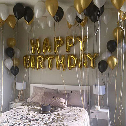 Birthday Surprise:Balloon Decoration Ideas