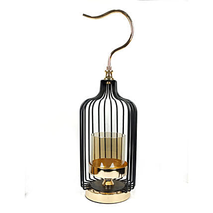 Online Cage Shaped Candle Holder