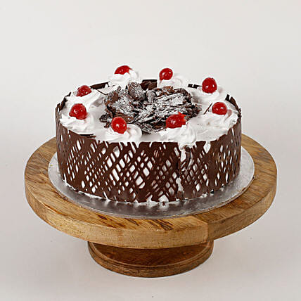 Cherries Cream Cake Online:Send Black Forest Cake