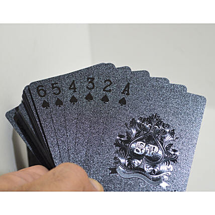 Black Playing Cards Buy