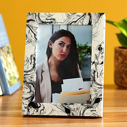 Online Resin Pattern Personalised Photo Frame