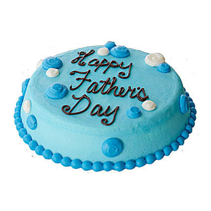 Fathers Day Cream Cake Half kg