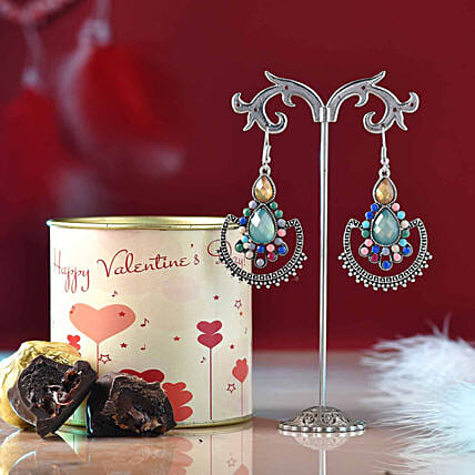 jewellery n chocolate hamper online