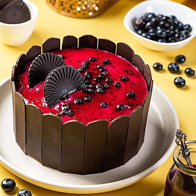 Blueberry Designer Cake