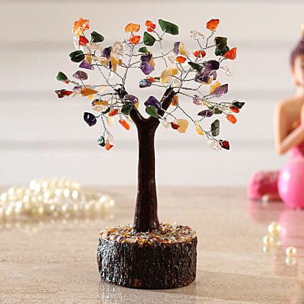 Bright 5 Stones Multicoloured Wish Tree:Wish Trees