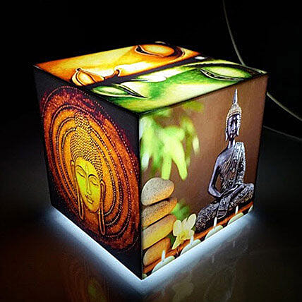 Gautam Buddha Cube Table Lamp