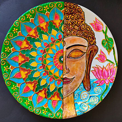 Online Hand Painted Plate