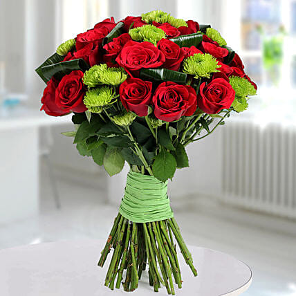 Bunch of roses:Chrysanthemum Flower