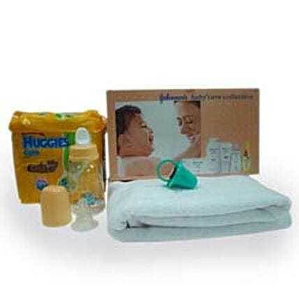 Bundle of Happiness-This Bundle of Happiness is a combo pack of all the baby products that are required by a newly born baby