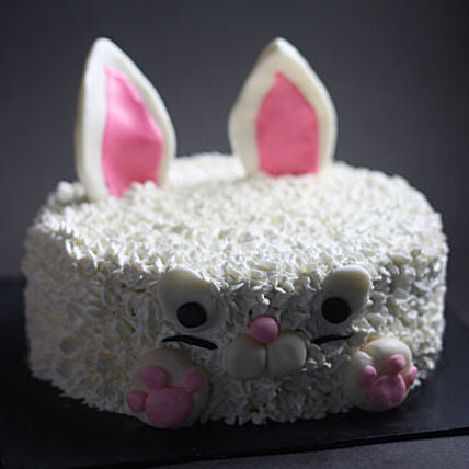 Cute Bunny Choco Cake - Kids:Designer and Theme Cakes