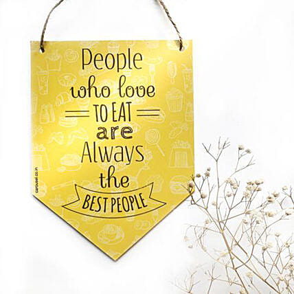 Quote Printed Wall Hanging Online:Wall Clocks