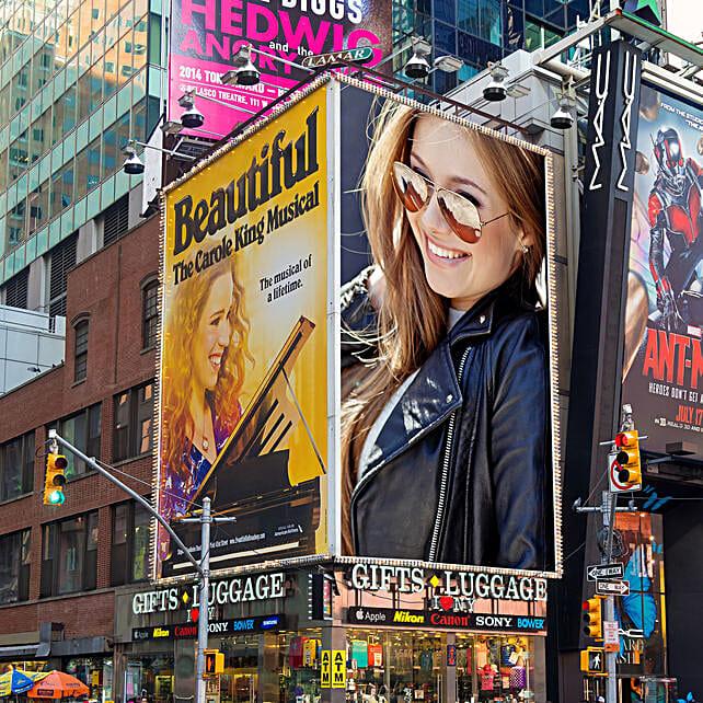 Digital Personalised Billboard E-Poster