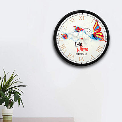 designer customised wall clock online