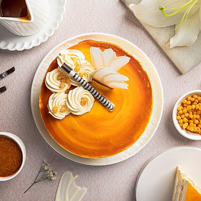 Butterscotch Cake 1Kg Eggless