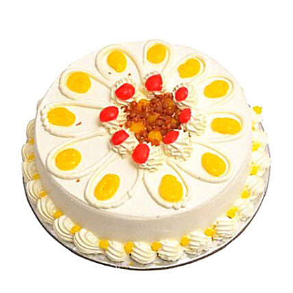 Butterscotch Cake Eggless 1kg by FNP