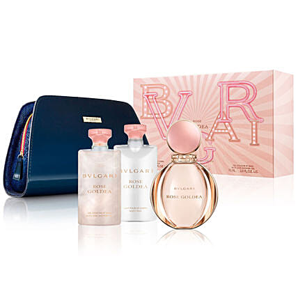 Online Bvlgari Rose Goldea  Set With Pouch