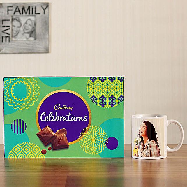 photo mug with chocolates online