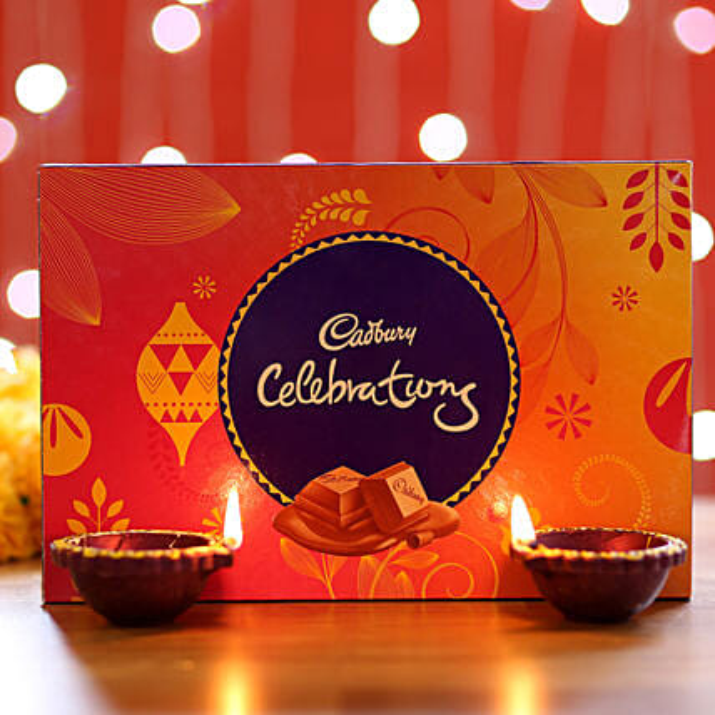 Diwali Diya and Chocolates Online