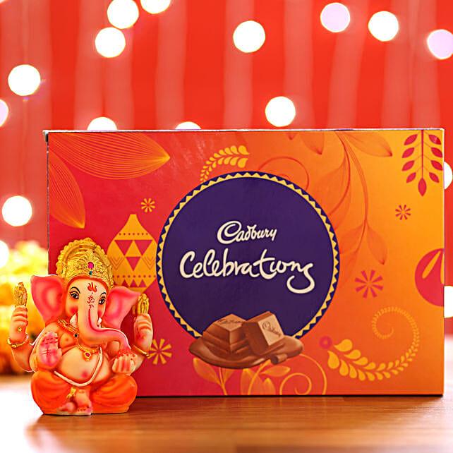 Chocolate Pack and Ganesha Idol for Diwali
