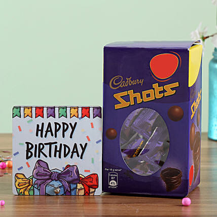 Chocolate and Birthday Greeting Combo Online