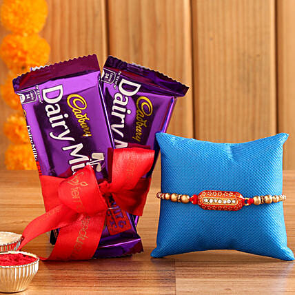 Rakhi And Cadbury Fruit N Nut Combo