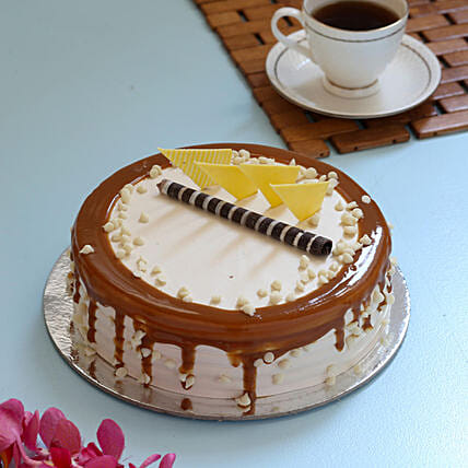 Online Creamy Caramel Cake:Birthday Gift For Uncle