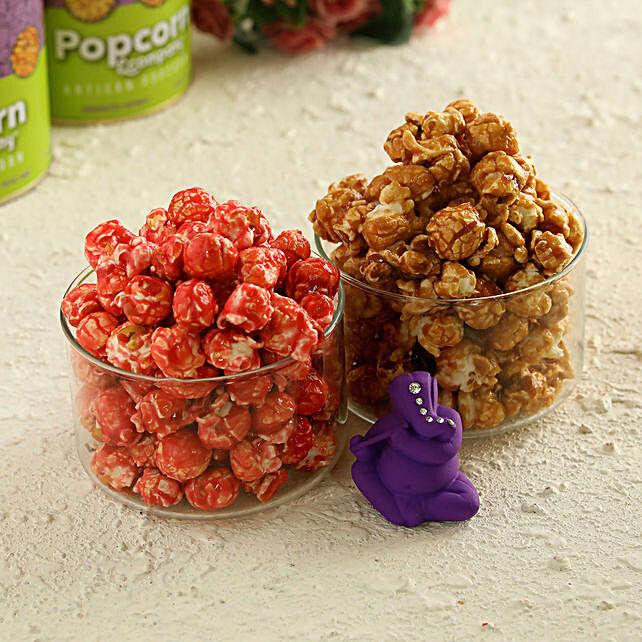 Caramel Crisp & Crunchy Litchi With Ganesha:Diwali Gifts for Kids