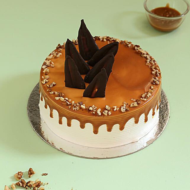 Online Walnut Cake:Caramel Cakes