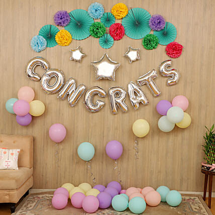 success party balloon decoration service online