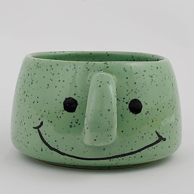 smile face vase