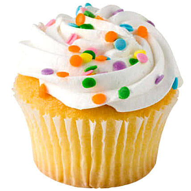 Cheerful Cupcakes 24 Eggless