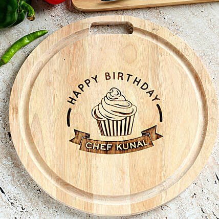 online chopping board for her birthday