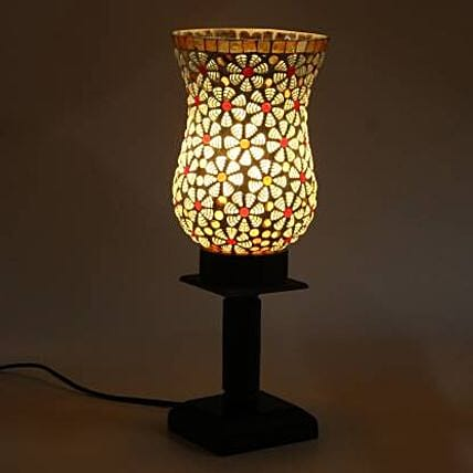 1st Hand Glass Table Lamp:Home Decor Gifts