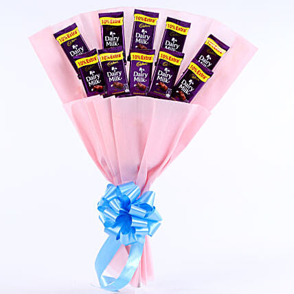 Cadbury Chocolate Bouquet chocolates womens day women day woman day women's day:Just Because Gifts