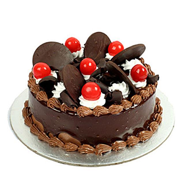 Choco Cherry Cake 2kg Eggless