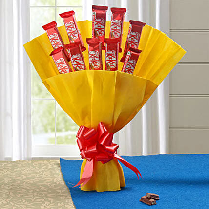 Gift Chocolate Bouquet:Send Midnight Gifts for Valentines Day