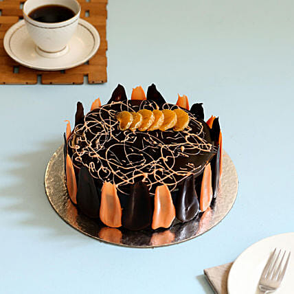 Online Choco Orange Cake
