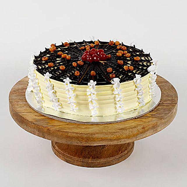 Choco Spiral Cream Pineapple Cake- Half Kg