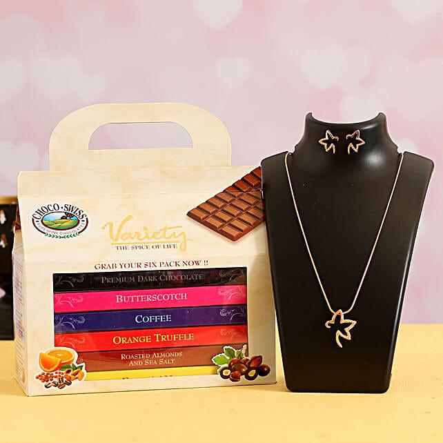 Online Chocolate Bars With Teddy Bear