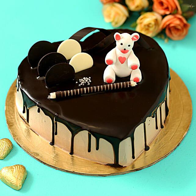 Online Choco Teddy Designer Cake
