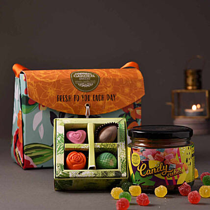 chocolate with candy jar online:Candies