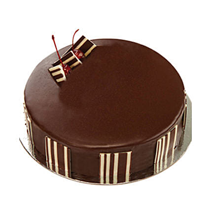 Chocolate Delight Cake - Five Star Bakery 1kg:Birthday Cakes Delivery in Mumbai